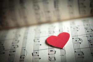 love-music-heart-shape-note-book-shallow-dof-30864702